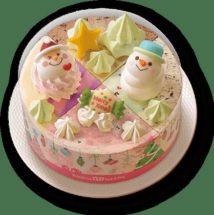 サーティワンアイスクリーム クリスマス パレット4